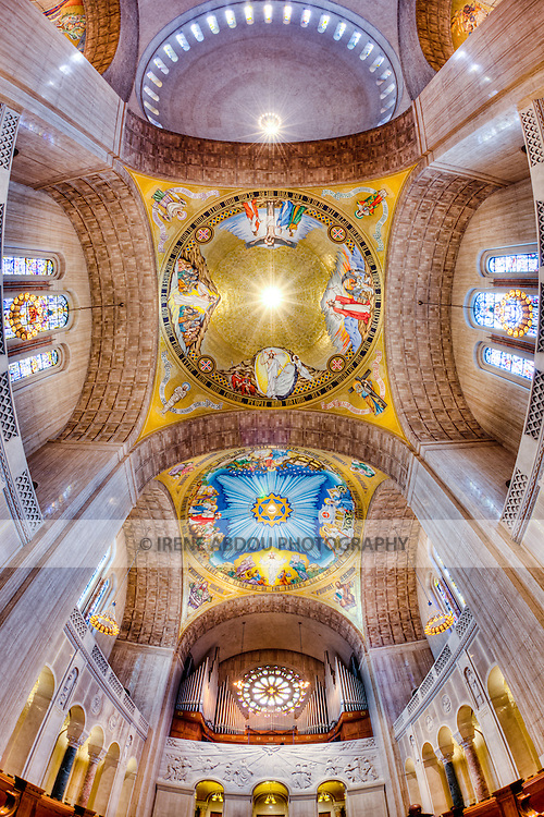 Built on land donated by the Catholic University of America, the Basilica of the National Shrine of the Immaculate Conception in Washington, DC is North America's largest Roman Catholic church and 10th largest church in the world.
