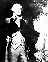 George Washington.  Copy of painting by Gilbert Stuart.  (George Washington Bicentennial Commission)<br /> Exact Date Shot Unknown<br /> NARA FILE #:  148-GW-1073<br /> WAR & CONFLICT BOOK #:  56
