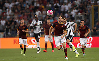 Calcio, Serie A: Roma vs Juventus. Roma, stadio Olimpico, 30 agosto 2015.<br /> Roma's Kostas Manolas in action during the Italian Serie A football match between Roma and Juventus at Rome's Olympic stadium, 30 August 2015.<br /> UPDATE IMAGES PRESS/Isabella Bonotto