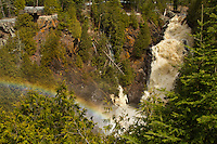 """Rainbow at Big Manitou Falls""<br />