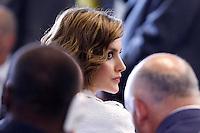 La Regina Letizia di Spagna, <br /> Reina consorte de Espana Letizia<br /> Queen Letizia of Spain<br /> Roma 12-06-2015. 39° Conferenza della FAO.<br /> 39th Conference of FAO.<br /> Photo Samantha Zucchi Insidefoto