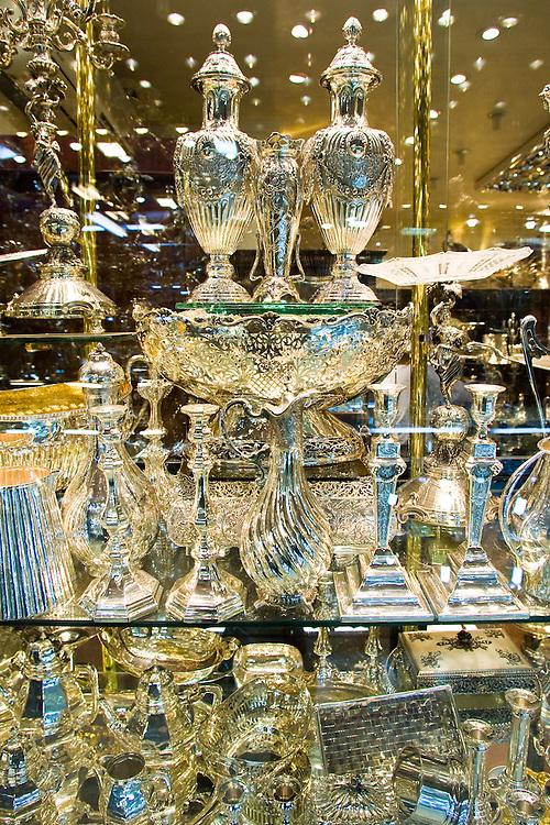 Silver market, Grand Bazaar, Kapali Carsi, 15th century market, Istanbul, Turkey, Kapali Carsi, shops,