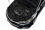 Car Stock 2017 Chevrolet Cruze LT 5 Door Hatchback Engine  high angle detail view