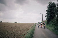 breakaway group<br /> <br /> 97th Brussels Cycling Classic (1.HC)<br /> 1 Day Race: Brussels > Brussels (201km)