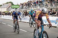 Mathieu Van der Poel (NED/Alpecin-Fenix) finishing the first stage<br /> <br /> Stage 1 from Brest to Landerneau (198km)<br /> 108th Tour de France 2021 (2.UWT)<br /> <br /> ©kramon