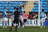 Sunderland's Aiden McGeady scores the equalising goal   during Peterborough United vs Sunderland AFC, Sky Bet EFL League 1 Football at London Road on 5th April 2021