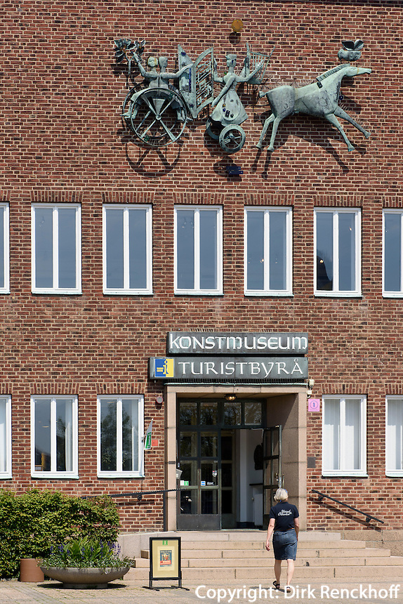 Kunstmuseum am St.Knuds Torg, Ystad, Provinz Skåne (Schonen), Schweden, Europa<br /> Museum of Arts at St.Knuds Torg in Ystad, Sweden