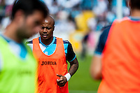Andre Ayew of Swansea City during the Pre Season friendly match between Swansea City and Rovers played at the Memorial Stadium, Bristol on July 23rd 2016