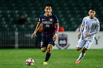 FC Kitchee Defender Bong Jin Kim (l) in action during the AFC Champions League 2017 Preliminary Stage match between  Kitchee SC (HKG) vs Hanoi FC (VIE) at the Hong Kong Stadium on 25 January 2017 in Hong Kong, Hong Kong. Photo by Marcio Rodrigo Machado/Power Sport Images