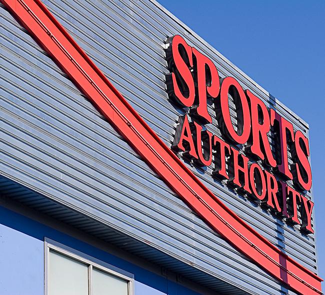 Sports Authority, San Francisco, California