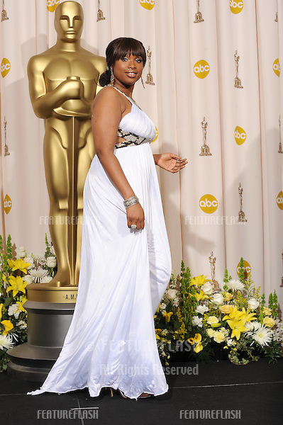 Jennifer Hudson at the 80th Annual Academy Awards at the Kodak Theatre, Hollywood..February 24, 2008 Los Angeles, CA.Picture: Paul Smith / Featureflash