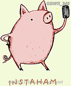 Simon, REALISTIC ANIMALS, REALISTISCHE TIERE, ANIMALES REALISTICOS, innovativ, paintings+++++SophieCorrigan_Instaham,GBWR346,#a#, EVERYDAY