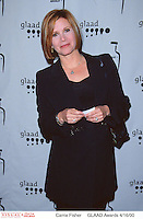 Actor CARRIE FISHER @ the 11th annual GLAAD Media Awards. #
