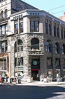 Seattle: Yesler Building, 1890-95. Elmer Fisher.  Photo '86.