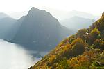 Monte San Salvatore, Ticino, Switzerland, November 2014.