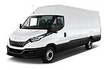 2021 Iveco Daily - 4 Door Cargo Van Angular Front automotive stock photos of front three quarter view
