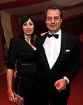 CANDIDA MORVILLO CON GIANLUCA VERZELLI<br /> CIRCUS GALA - FESTA DI COMPLEANNO DI LAURA TESO ALL'ATA HOTEL MILANO 2010
