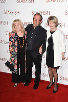 "Michelle Dotrice and director, Bill Clark<br /> at the ""Starfish"" UK premiere, Curzon Mayfair, London.<br /> <br /> <br /> ©Ash Knotek  D3190  27/10/2016"