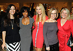 From left: Staffers Sarah Tressler, Joy Sewing, Lindsey Love, Molly Glentzer and Melissa Aguilar at the Houston Chronicle's Best Dressed announcement party at Neiman Marcus Wednesday Feb 01,2012. (Dave Rossman/For the Chronicle)