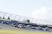 #38: Todd Gilliland, Front Row Motorsports, Ford F-150 Speedco  #16: Austin Hill, Hattori Racing Enterprises, Toyota Tundra TRD / United Rentals #13: Johnny Sauter, ThorSport Racing, Ford F-150 Vivitar/Bence Motor Sales
