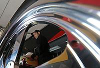 Feb. 17, 2013; Pomona, CA, USA; NHRA top fuel dragster driver Larry Dixon during the Winternationals at Auto Club Raceway at Pomona. Mandatory Credit: Mark J. Rebilas-