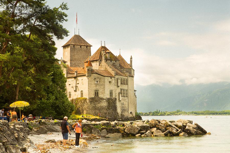 Image Ref: SWISS096<br /> Location: Montreaux, Switzerland<br /> Date of Shot: 25th June 2017