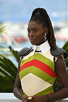 CANNES, FRANCE. July 8, 2021: Jodie Turner-Smith at the photocall for After Yang at the 74th Festival de Cannes.<br /> Picture: Paul Smith / Featureflash