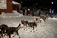 Dallas Seavey is ready to leave Takotna after his 24 hour layover during Iditarod 2009