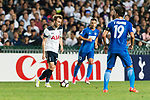Tottenham Hotspur Midfielder Christian Eriksen (L) in action during the Friendly match between Kitchee SC and Tottenham Hotspur FC at Hong Kong Stadium on May 26, 2017 in So Kon Po, Hong Kong. Photo by Man yuen Li  / Power Sport Images