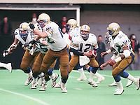 John Hufnagel Winnipeg Blue Bombers 1986. Copyright photograph Scott Grant/
