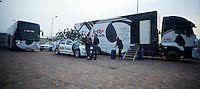 Milan-San Remo 2012.raceday.The Lotto-Belisol fleet