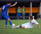 Aug. 25, 2012; Men's Soccer vs Duke; Ryan Finley ..Photo by Matt Cashore/University of Notre Dame