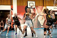 13-03-2021: Basketbal: Keijser Capital Martini Sparks v Grasshoppers: Haren Martini Sparks speelster Maud Haze pakt een rebound