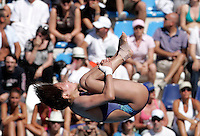 China's Chen Ruolin competes in the women's 10m platform diving finals at the Swimming World Championships in Rome, 18 July 2009..UPDATE IMAGES PRESS/Riccardo De Luca