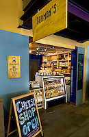 Orman's Cheese Shop is a vendor at 7th Street Public Market in Uptown Charlotte, North Carolina. Building upon the success of Charlotte's Center City Green Market, the Seventh Street Public Market opened in 2012 to be a year-round market serving and celebrating local food artisans, entrepreneurs and local and regional farmers. Image is part of a series of photos taken of the Center City attraction.