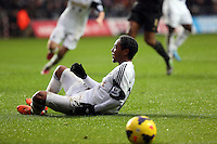 Wednesday, 01 January 2014<br /> Pictured: Jonathan de Guzman.<br /> Re: Barclay's Premier League, Swansea City FC v Manchester City at the Liberty Stadium, south Wales.