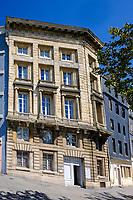 Europe/France/Normandie/76/Seine Maritime/  Le Havre :  Musée Maison de l'Armateur, 3 Quai de l'Île - La Maison de l'armateur est une demeure du xviiie siècle située au Havre qui fut la propriété de plusieurs négociants avant d'être transformée en musée, ouvert au public depuis 2006. Elle se trouve au 3 quai de l'île, dans le quartier Saint-François, face au port de pêche. Elle a été classée monument historique par arrêté du 26 avril 1950  // Europe / France / Normandy / 76 / Seine Maritime / Le Havre: Museum of the Shipowner, 3 Quai de l'Île - <br /> The Shipowner's House is an 18th century residence located in Le Havre which was owned by several traders before being transformed into a museum, open to the public since 2006. It is located at 3 quai de l'île, in the district Saint-François, opposite the fishing port. It was classified as a historic monument by decree of April 26, 1951.