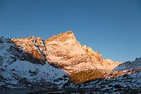 Sunrise on Crestone Needle