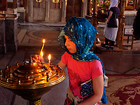 Kirche der Mutter Gottes, Batumi, Adscharien - Atschara, Georgien, Europa<br /> dhurch of virgin mother,  Batumi, Adjara,  Georgia, Europe