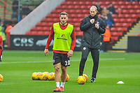 Sheffield United's forward Billy Sharp (10) during the Sky Bet Championship match between Sheff United and Leeds United at Bramall Lane, Sheffield, England on 1 December 2018. Photo by Stephen Buckley / PRiME Media Images.