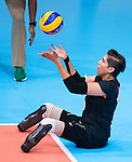 Felicia Voss-Shafiq, Rio 2016 - Sitting Volleyball // Volleyball assis.<br /> Canada competes against the Netherlands in the Women's Sitting Volleyball Preliminary // Le Canada affronte les Pays-Bas dans le tournoi préliminaire de volleyball assis féminin. 11/09/2016.