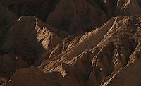 Erosion in Anza Borrego Desert.