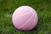 Pink Basketball.