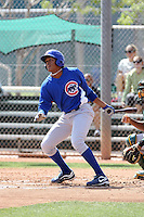 Xavier Batista, Chicago Cubs 2010 extended spring training..Photo by:  Bill Mitchell/Four Seam Images.