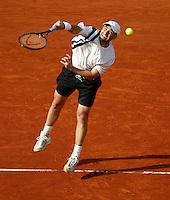 20030528, Paris, Tennis, Roland Garros, Agassi