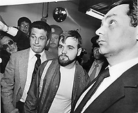 1984 FILE PHOTO - ARCHIVES -<br /> <br /> <br /> Le Caporal Denis Lortie, lors de son procès, 1984<br /> <br /> Denis Lortie: Corporal has pleaded not guilty to three first-degree murder charges.<br /> <br /> 1984<br /> <br /> PHOTO : Boris Spremo - Toronto Star Archives - AQP