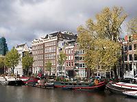 Gracht Oudeschans  Amsterdam, Provinz Nordholland, Niederlande<br /> Gracht Oudeschans, Amsterdam, Province North Holland, Netherlands