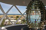 Lighthouse light. Plum Island. MA