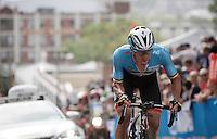 Iljo Keisse (BEL/Etixx-QuickStep) working hard up 23rd street<br /> <br /> Elite Men Road Race<br /> UCI Road World Championships Richmond 2015 / USA