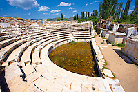 Roman Odeon Theatre of  Aphrodisias Archaeological site, Turkey